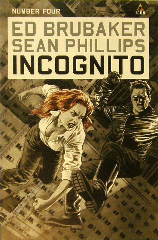 Cover of Incognito (Vol 1) #4. One of 250,000 Vintage American Comics on sale from Krypton!