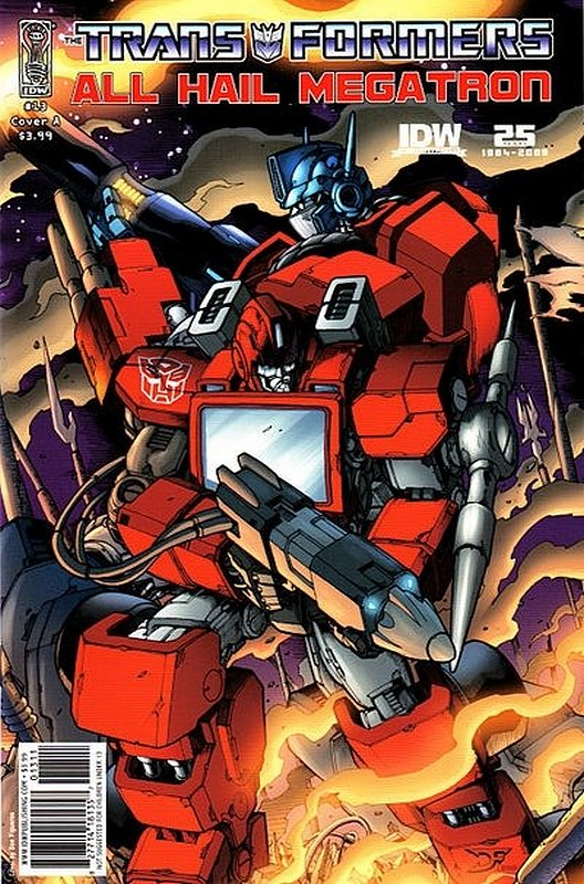 Cover of Transformers: All Hail Megatron #13. One of 250,000 Vintage American Comics on sale from Krypton!