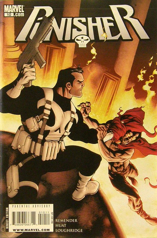 Cover of Punisher (Vol 4) #10. One of 250,000 Vintage American Comics on sale from Krypton!
