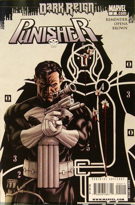 Cover of Punisher (Vol 4) #2. One of 250,000 Vintage American Comics on sale from Krypton!