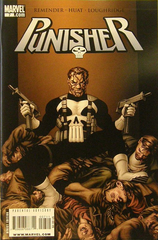 Cover of Punisher (Vol 4) #7. One of 250,000 Vintage American Comics on sale from Krypton!
