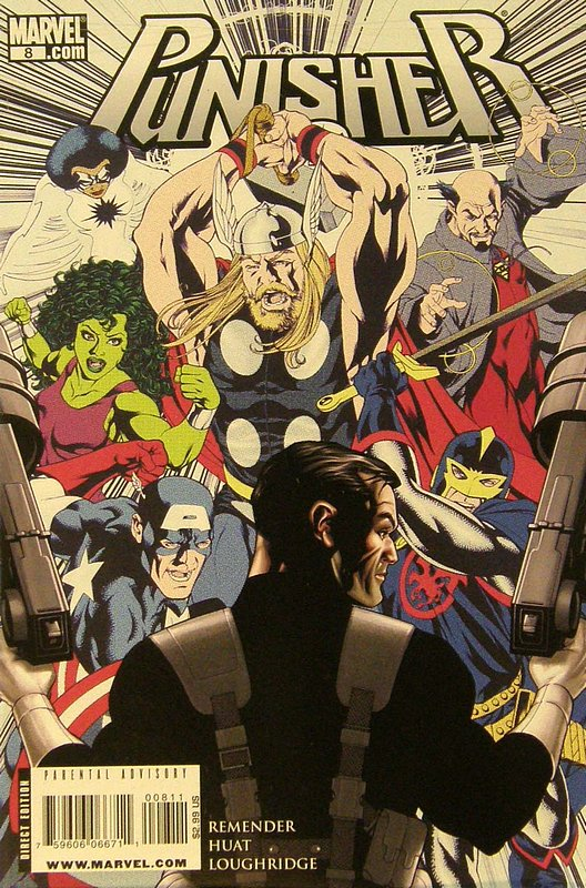 Cover of Punisher (Vol 4) #8. One of 250,000 Vintage American Comics on sale from Krypton!