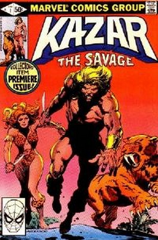 Cover of Ka-Zar (Vol 3) The Savage #1. One of 250,000 Vintage American Comics on sale from Krypton!