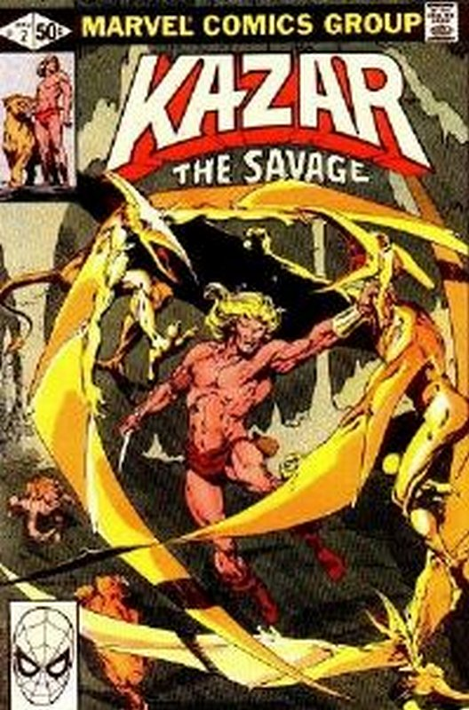 Cover of Ka-Zar (Vol 3) The Savage #2. One of 250,000 Vintage American Comics on sale from Krypton!