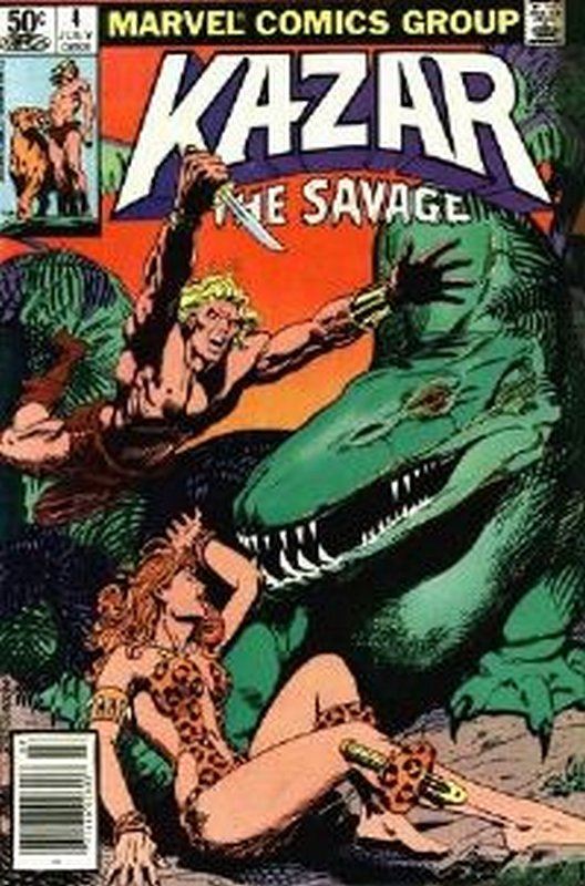 Cover of Ka-Zar (Vol 3) The Savage #4. One of 250,000 Vintage American Comics on sale from Krypton!