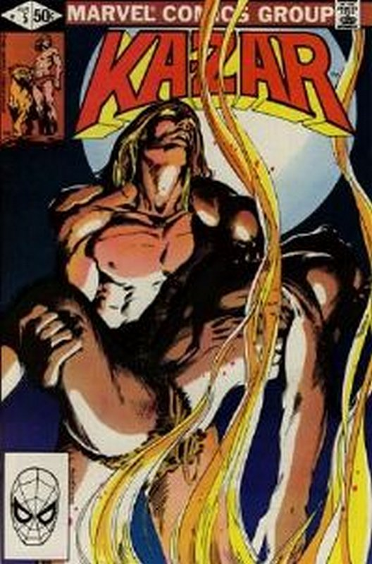 Cover of Ka-Zar (Vol 3) The Savage #5. One of 250,000 Vintage American Comics on sale from Krypton!