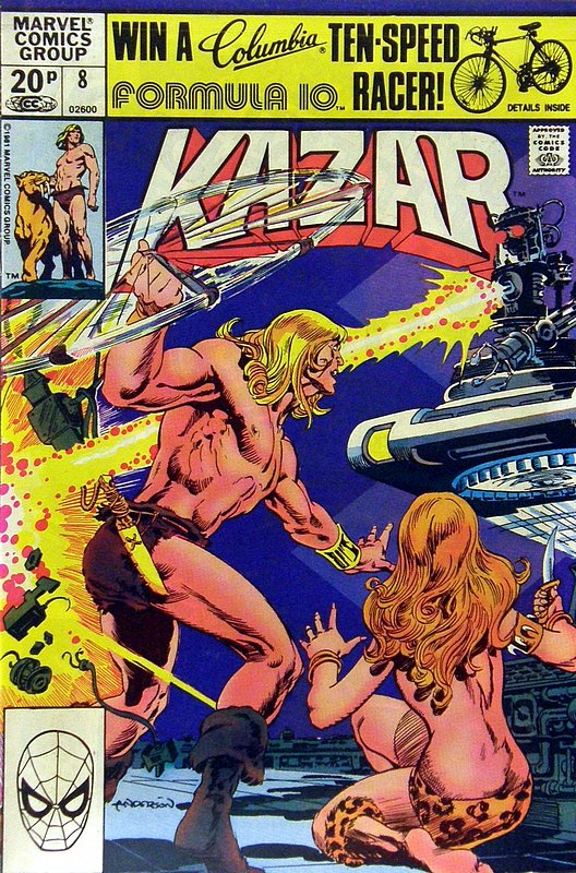 Cover of Ka-Zar (Vol 3) The Savage #8. One of 250,000 Vintage American Comics on sale from Krypton!
