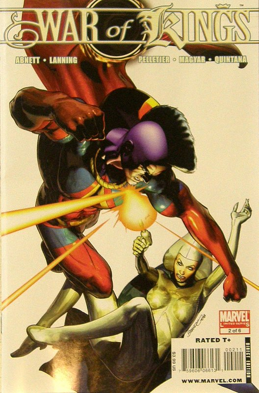 Cover of War of Kings (2009 Ltd) #2. One of 250,000 Vintage American Comics on sale from Krypton!