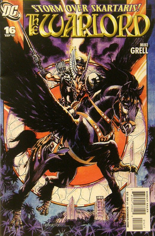Cover of Warlord (Vol 3) #16. One of 250,000 Vintage American Comics on sale from Krypton!