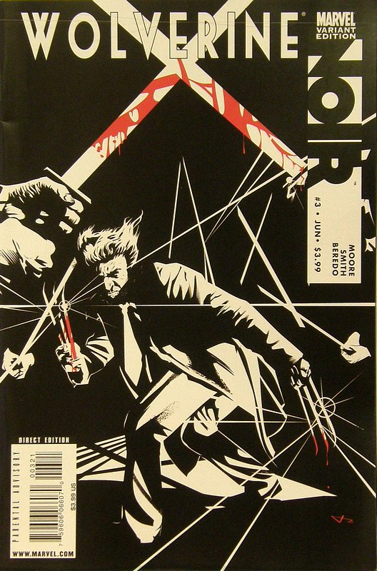 Cover of Wolverine: Noir (2009 Ltd) #3. One of 250,000 Vintage American Comics on sale from Krypton!