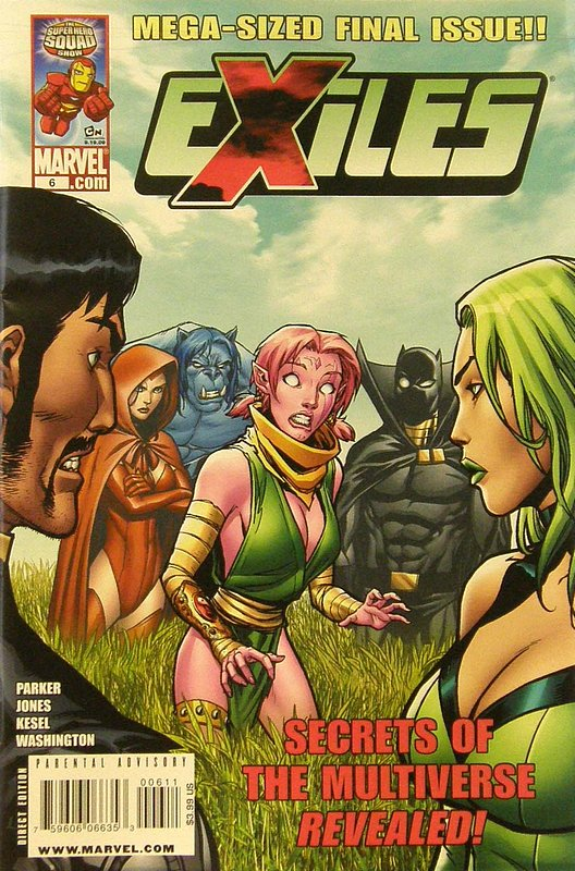 Cover of Exiles (Vol 2) #6. One of 250,000 Vintage American Comics on sale from Krypton!