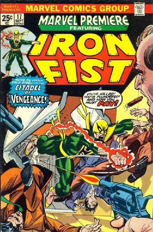Cover of Marvel Premiere (Vol 1) #17. One of 250,000 Vintage American Comics on sale from Krypton!