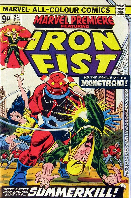 Cover of Marvel Premiere (Vol 1) #24. One of 250,000 Vintage American Comics on sale from Krypton!
