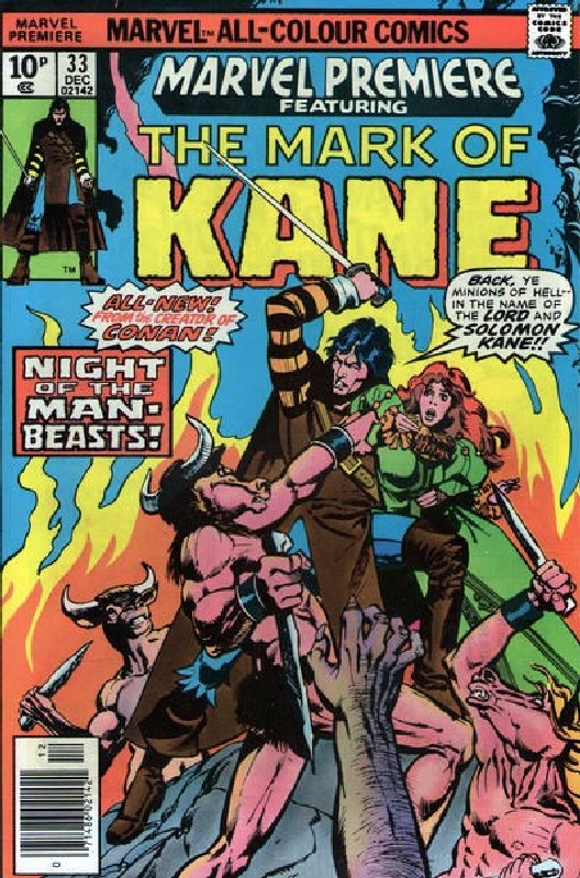 Cover of Marvel Premiere (Vol 1) #33. One of 250,000 Vintage American Comics on sale from Krypton!