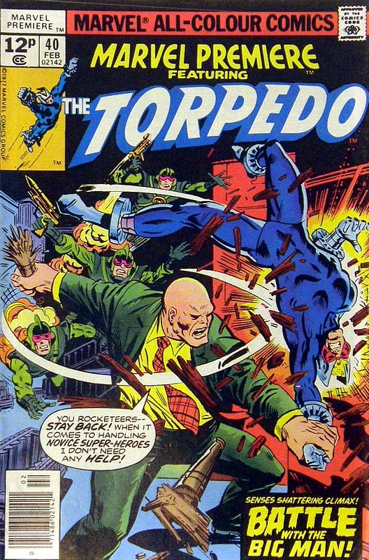 Cover of Marvel Premiere (Vol 1) #40. One of 250,000 Vintage American Comics on sale from Krypton!