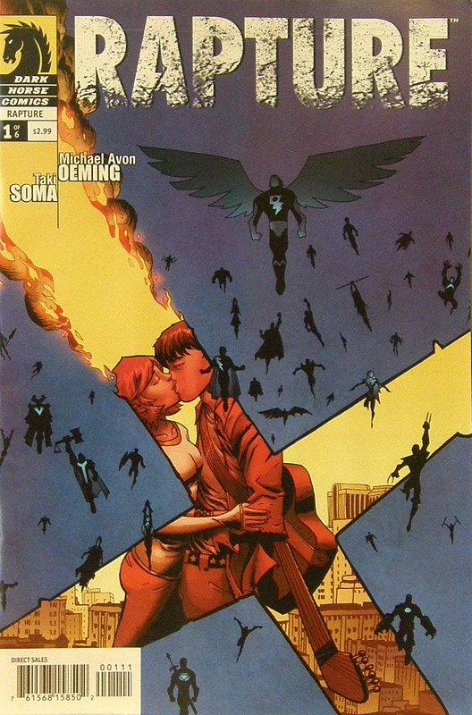 Cover of Rapture (2009 Ltd) #1. One of 250,000 Vintage American Comics on sale from Krypton!