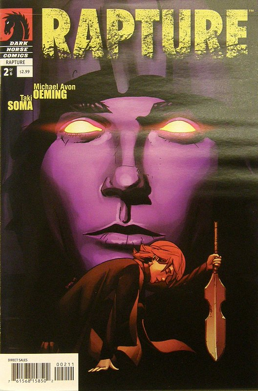 Cover of Rapture (2009 Ltd) #2. One of 250,000 Vintage American Comics on sale from Krypton!