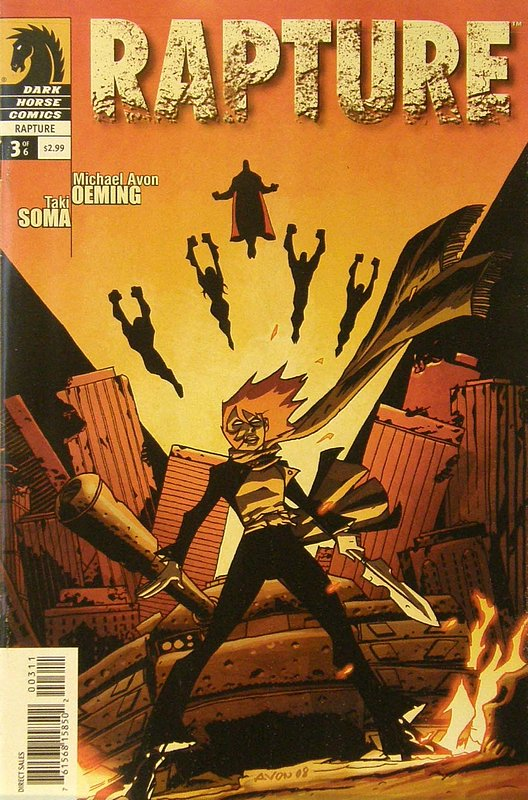 Cover of Rapture (2009 Ltd) #3. One of 250,000 Vintage American Comics on sale from Krypton!