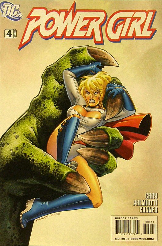 Cover of Power Girl (Vol 1) #4. One of 250,000 Vintage American Comics on sale from Krypton!