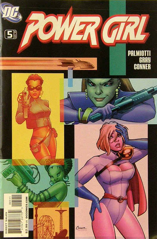 Cover of Power Girl (Vol 1) #5. One of 250,000 Vintage American Comics on sale from Krypton!