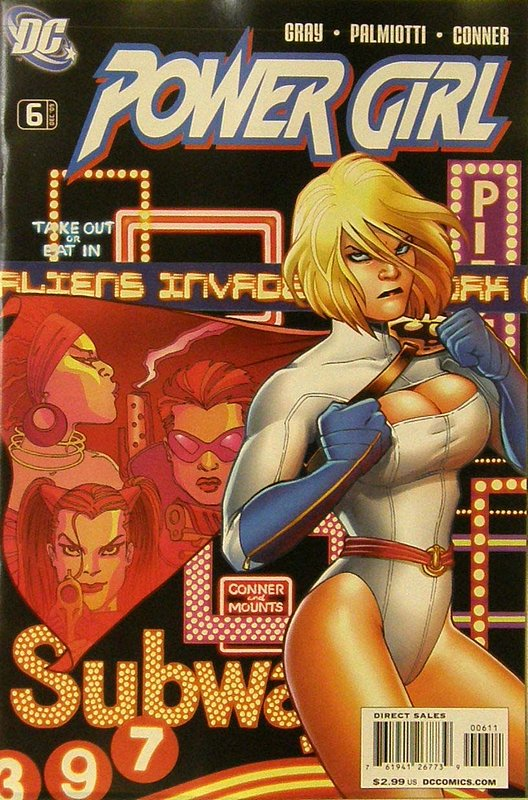Cover of Power Girl (Vol 1) #6. One of 250,000 Vintage American Comics on sale from Krypton!