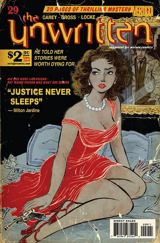 Cover of Unwritten (Vol 1) #29. One of 250,000 Vintage American Comics on sale from Krypton!