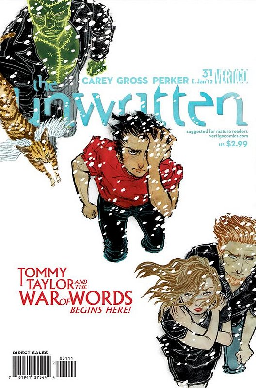 Cover of Unwritten (Vol 1) #31. One of 250,000 Vintage American Comics on sale from Krypton!