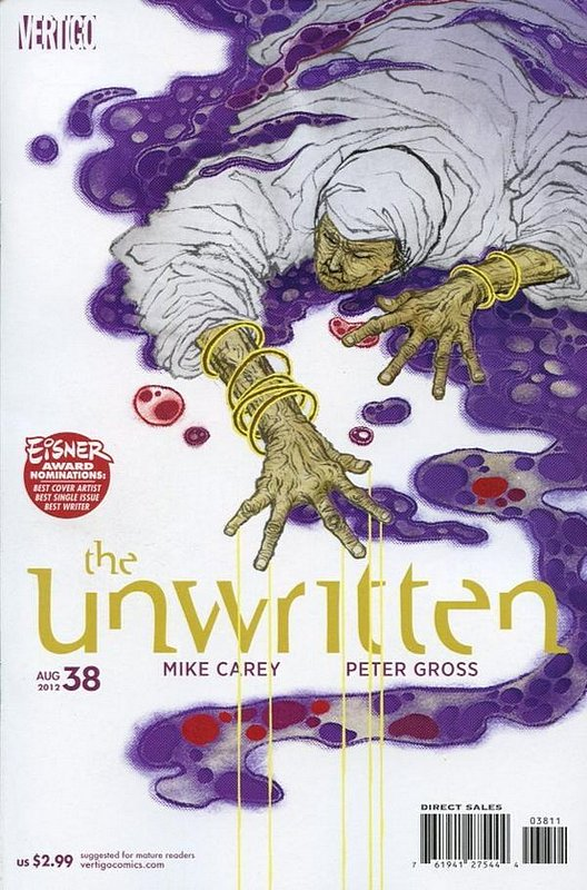 Cover of Unwritten (Vol 1) #38. One of 250,000 Vintage American Comics on sale from Krypton!