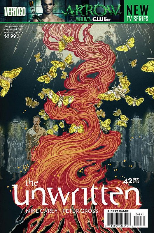 Cover of Unwritten (Vol 1) #42. One of 250,000 Vintage American Comics on sale from Krypton!