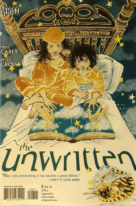 Cover of Unwritten (Vol 1) #8. One of 250,000 Vintage American Comics on sale from Krypton!