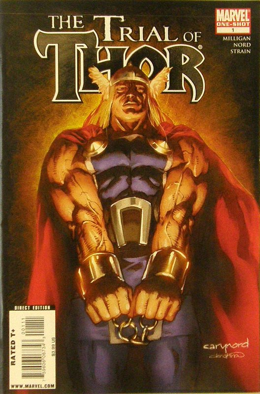 Cover of Thor: The Trial of Thor (2009 One Shot) #1. One of 250,000 Vintage American Comics on sale from Krypton!