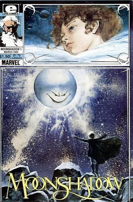 Cover of Moonshadow (Vol 1) #1. One of 250,000 Vintage American Comics on sale from Krypton!