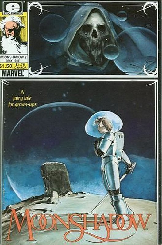 Cover of Moonshadow (Vol 1) #2. One of 250,000 Vintage American Comics on sale from Krypton!