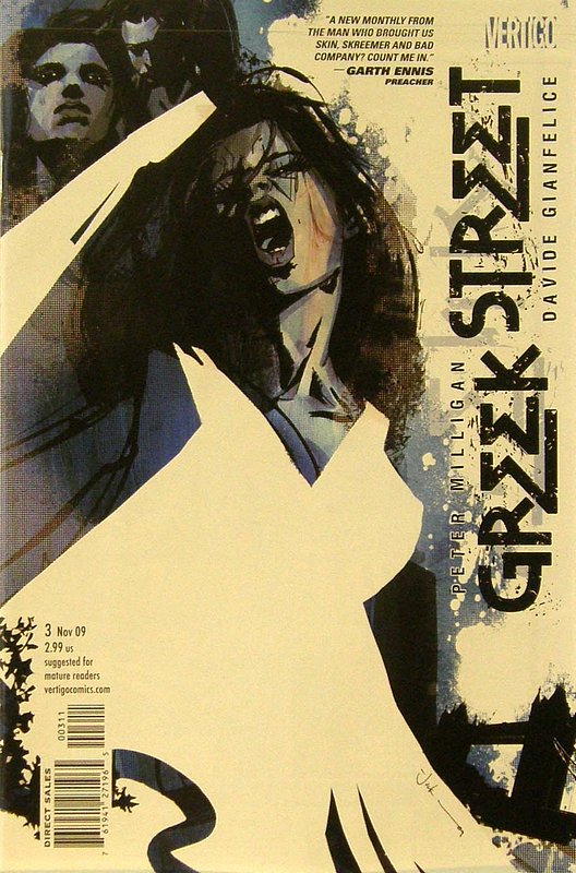 Cover of Greek Street (Vol 1) #3. One of 250,000 Vintage American Comics on sale from Krypton!