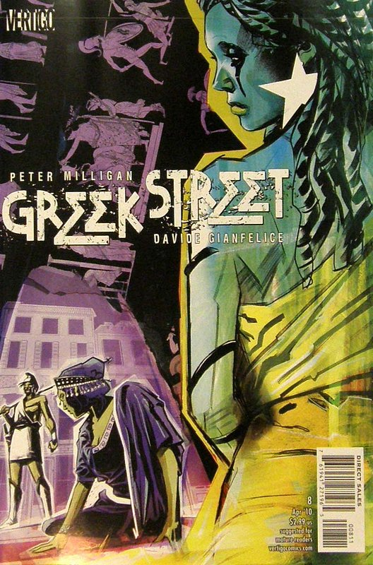 Cover of Greek Street (Vol 1) #8. One of 250,000 Vintage American Comics on sale from Krypton!