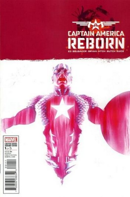 Cover of Captain America: Reborn (2009 Ltd) #1. One of 250,000 Vintage American Comics on sale from Krypton!
