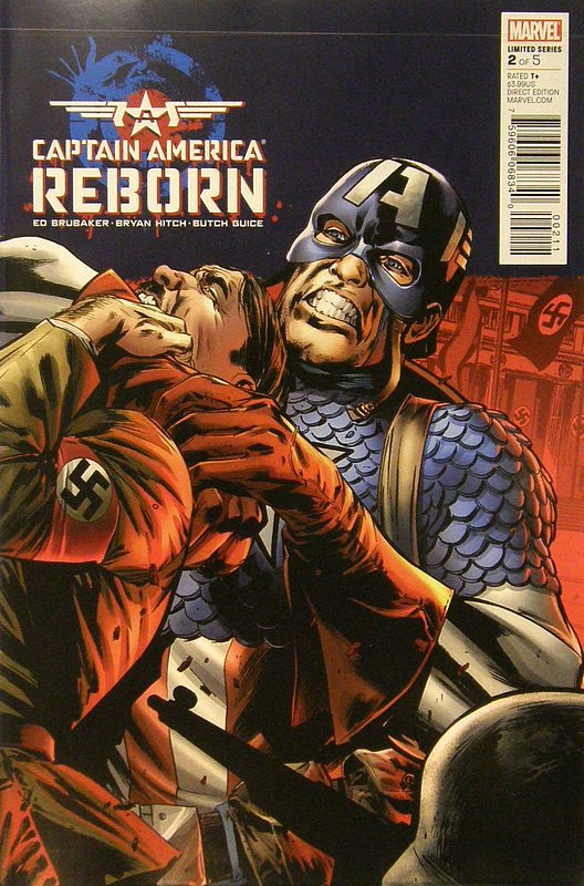 Cover of Captain America: Reborn (2009 Ltd) #2. One of 250,000 Vintage American Comics on sale from Krypton!