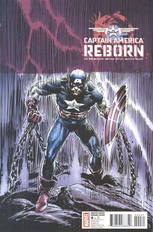 Cover of Captain America: Reborn (2009 Ltd) #4. One of 250,000 Vintage American Comics on sale from Krypton!