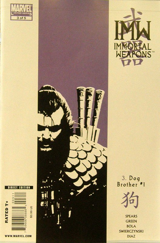 Cover of Immortal Weapons (2009 Ltd) #3. One of 250,000 Vintage American Comics on sale from Krypton!