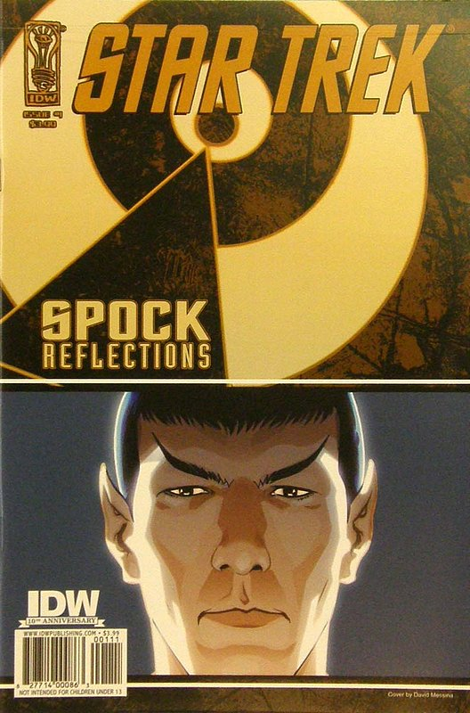 Cover of Star Trek: Spock Reflections (2009 Ltd) #1. One of 250,000 Vintage American Comics on sale from Krypton!