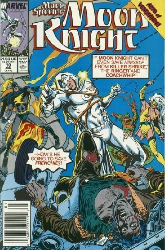 Cover of Moon Knight (Vol 3) Marc Spector #10. One of 250,000 Vintage American Comics on sale from Krypton!