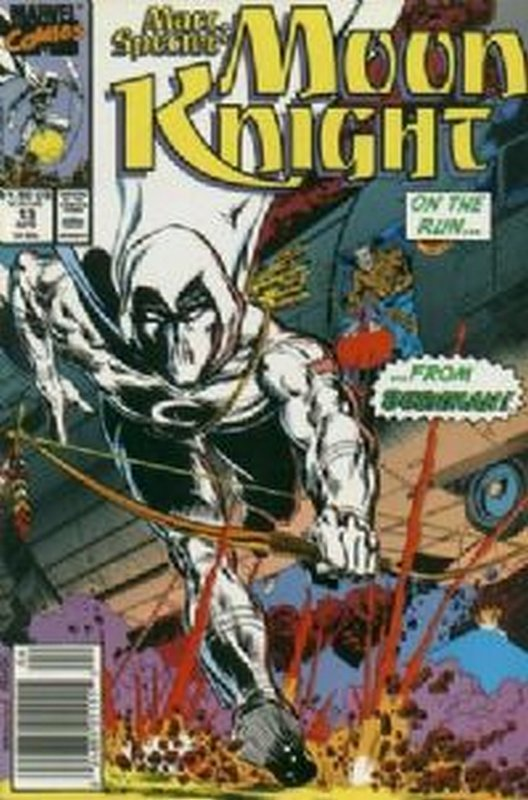 Cover of Moon Knight (Vol 3) Marc Spector #13. One of 250,000 Vintage American Comics on sale from Krypton!