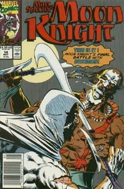 Cover of Moon Knight (Vol 3) Marc Spector #14. One of 250,000 Vintage American Comics on sale from Krypton!