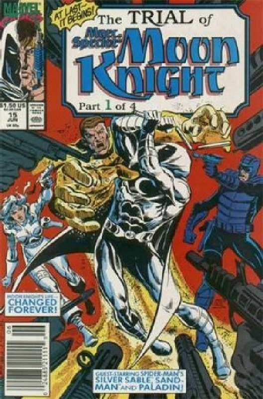 Cover of Moon Knight (Vol 3) Marc Spector #15. One of 250,000 Vintage American Comics on sale from Krypton!