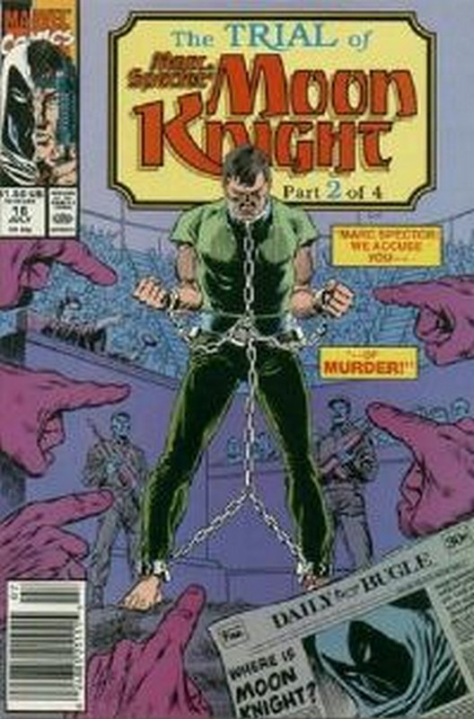 Cover of Moon Knight (Vol 3) Marc Spector #16. One of 250,000 Vintage American Comics on sale from Krypton!
