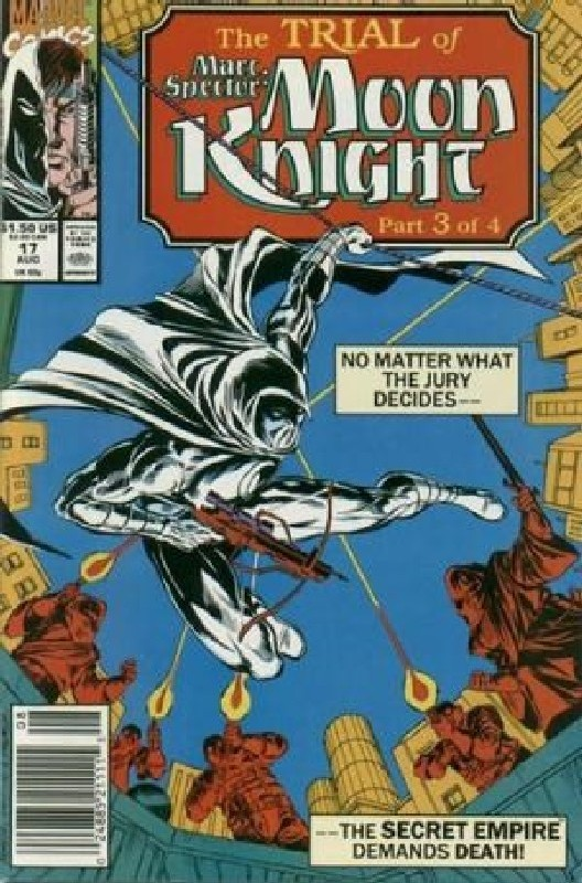 Cover of Moon Knight (Vol 3) Marc Spector #17. One of 250,000 Vintage American Comics on sale from Krypton!