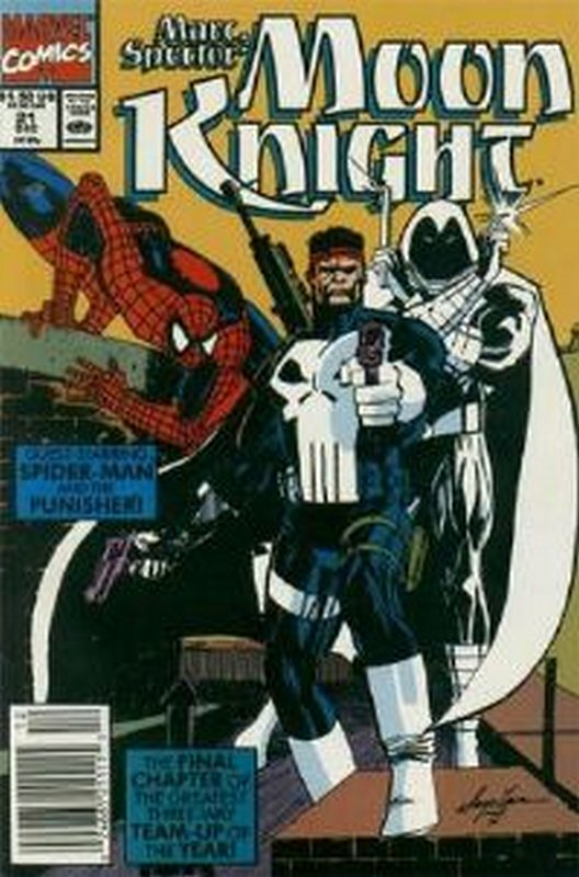 Cover of Moon Knight (Vol 3) Marc Spector #21. One of 250,000 Vintage American Comics on sale from Krypton!