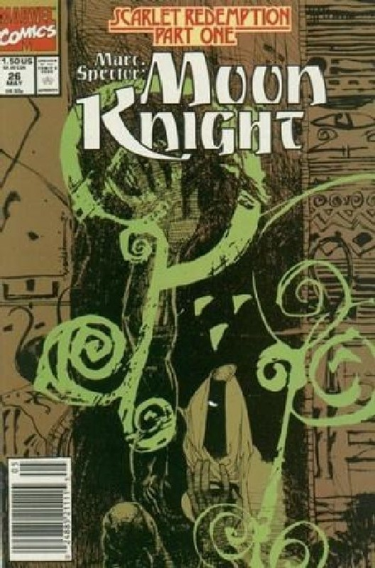 Cover of Moon Knight (Vol 3) Marc Spector #26. One of 250,000 Vintage American Comics on sale from Krypton!