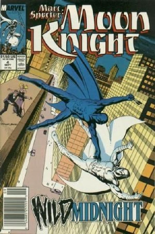 Cover of Moon Knight (Vol 3) Marc Spector #4. One of 250,000 Vintage American Comics on sale from Krypton!