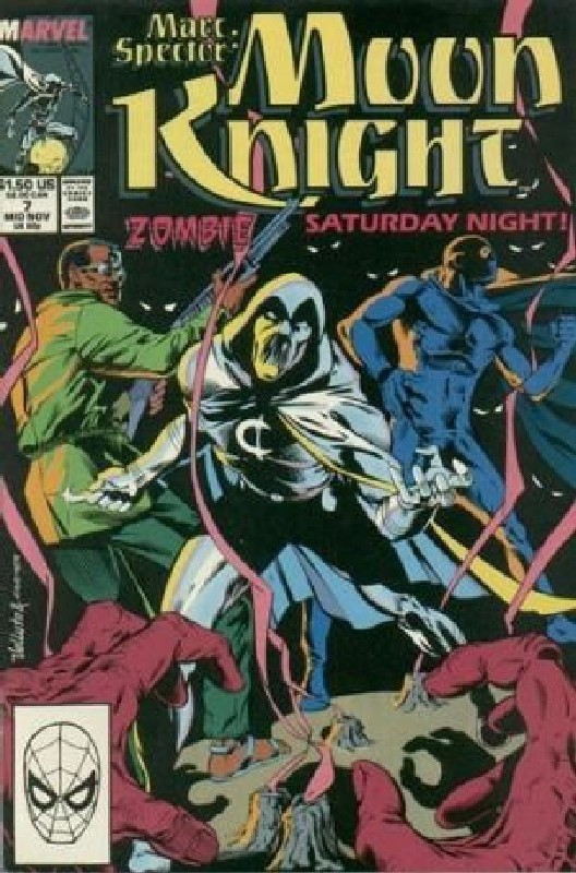 Cover of Moon Knight (Vol 3) Marc Spector #7. One of 250,000 Vintage American Comics on sale from Krypton!